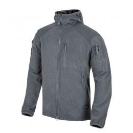 Куртка флисовая Helikon-Tex® ALPHA HOODIE Jacket - Grid Fleece