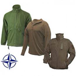 Куртки флисовые, свитеры НАТО